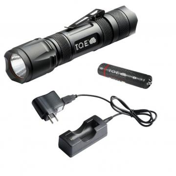 Lampe d'intervention Tactical Light rechargeable 220 Lumens